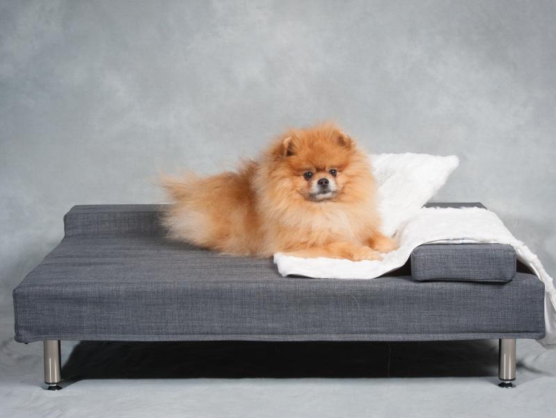 Eksklusiv håndlaget Molli hundeseng - I LOVE DOGS