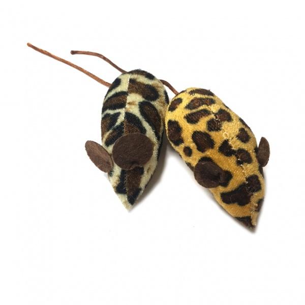Bilde av 2pk Lekemus I Leopardmønster