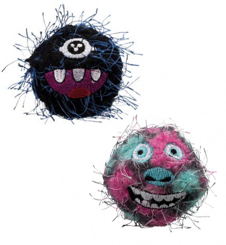 Bilde av 2pk Monsterballs Katteleke